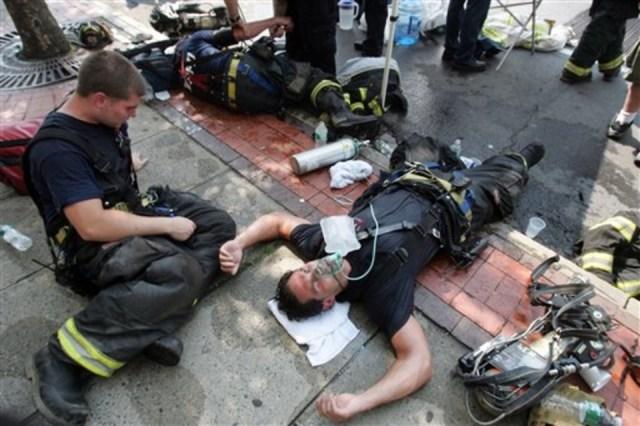 Resultado de imagen de firefighter thermal stress