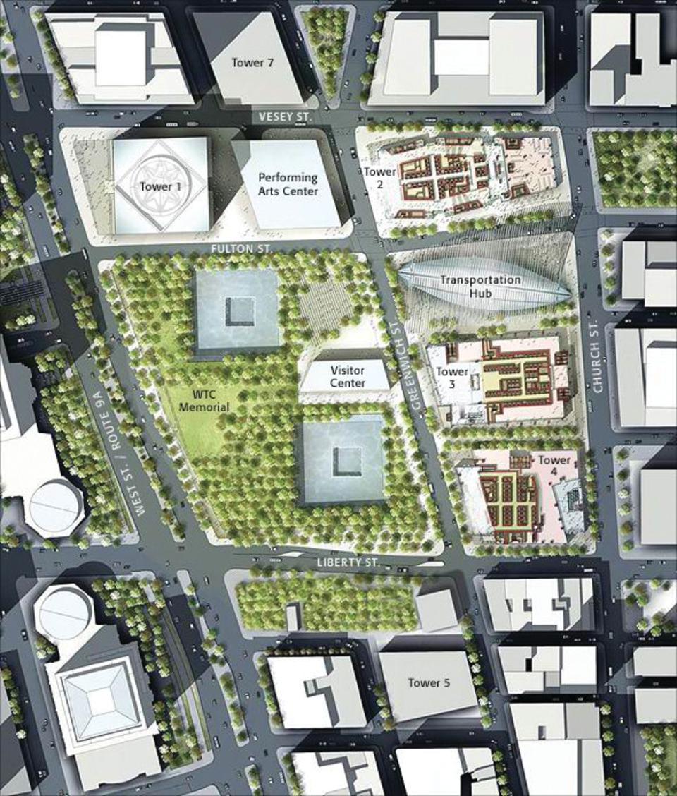 medium resolution of diagram of world trade center