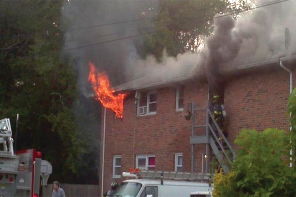 Garden Apartment Fires  Engine Firefighter Assignments