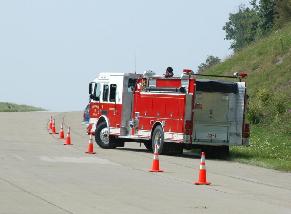 fire engine vehicle damage diagram