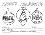 Color A Smile : Volunteer to Color : Coloring Pages : Free