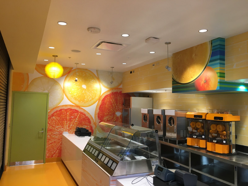Restaurant Signs And Graphics, Windows, Wall Murals