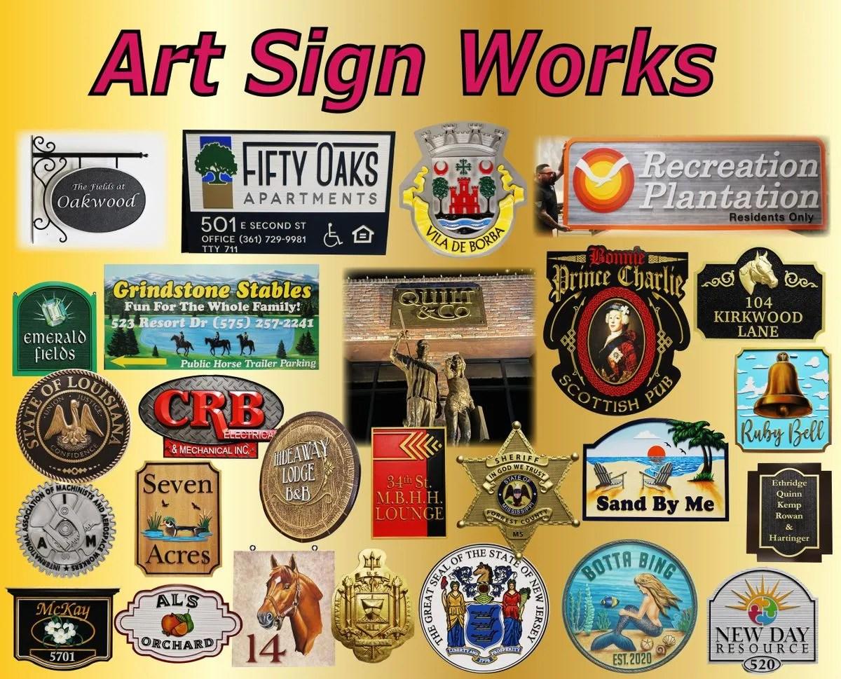 wood signs custom wood signs carved