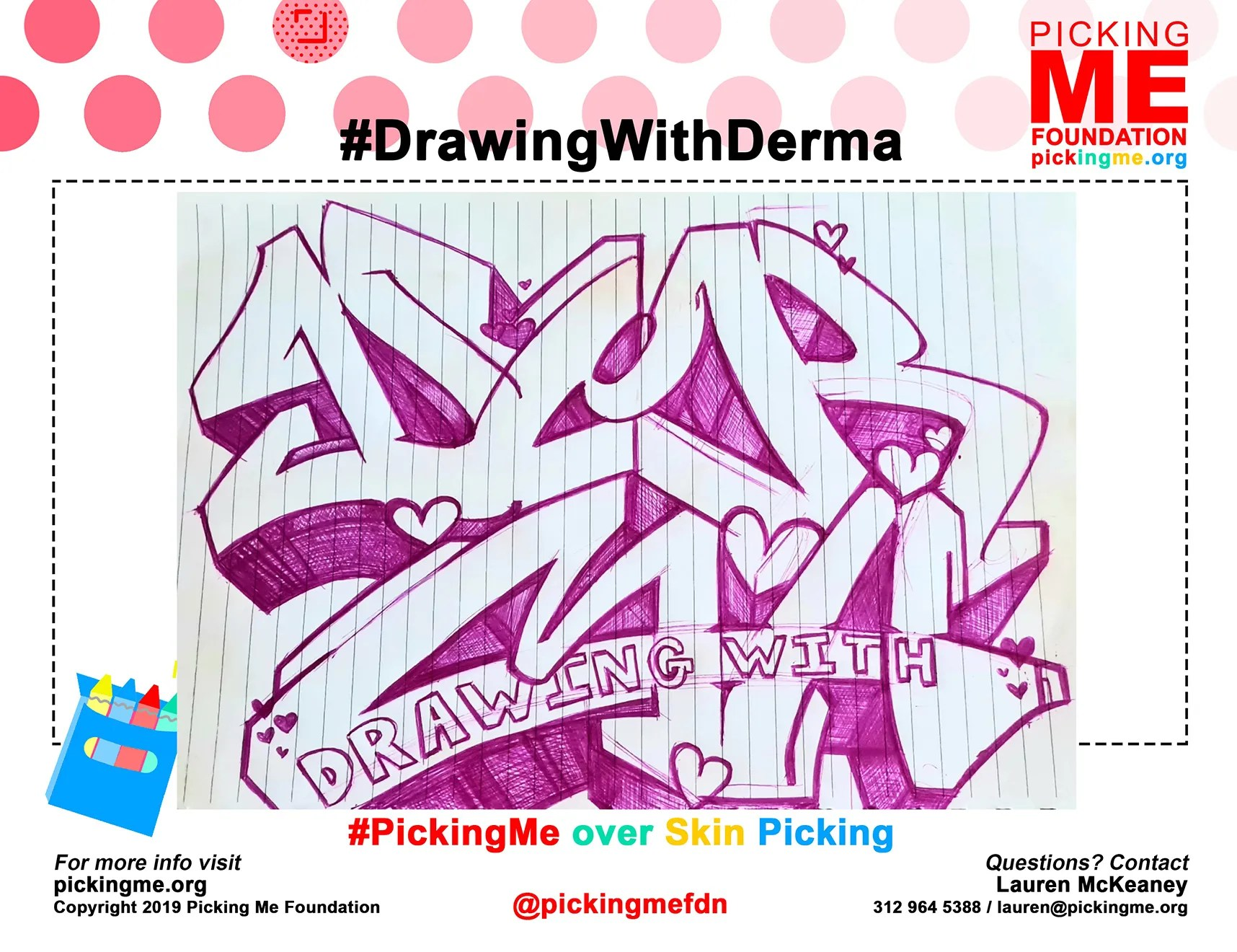 Skin Picking Dermatillomania Art By Suffers And