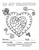 Color A Smile : Volunteer to Color : Coloring Pages