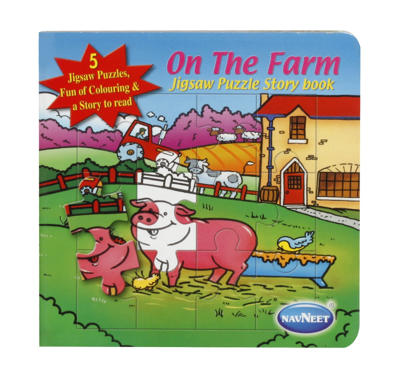 Navneet On The Farm Jigsaw Puzzle Book Price In India 24