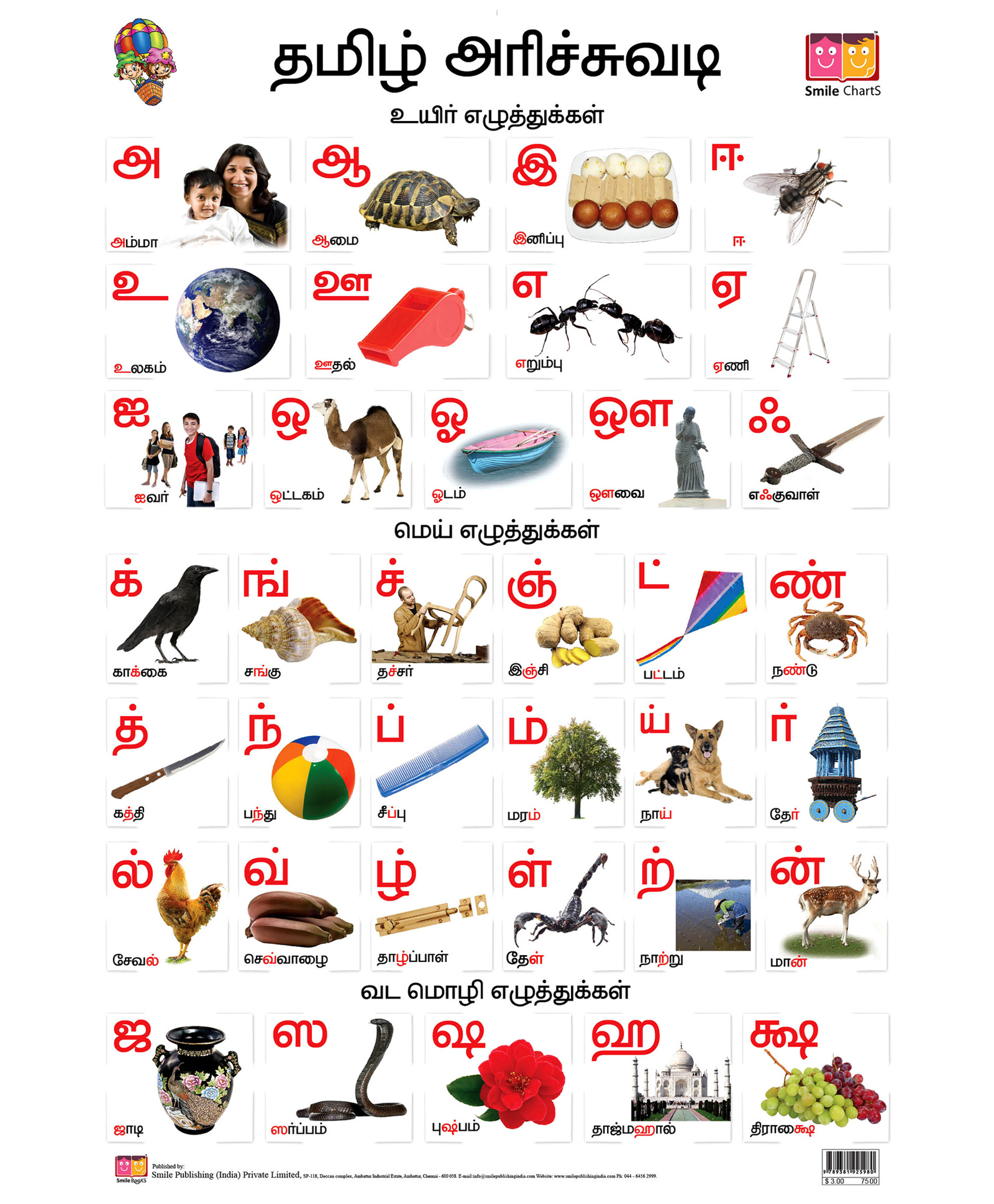 Tamil Letters For Kids