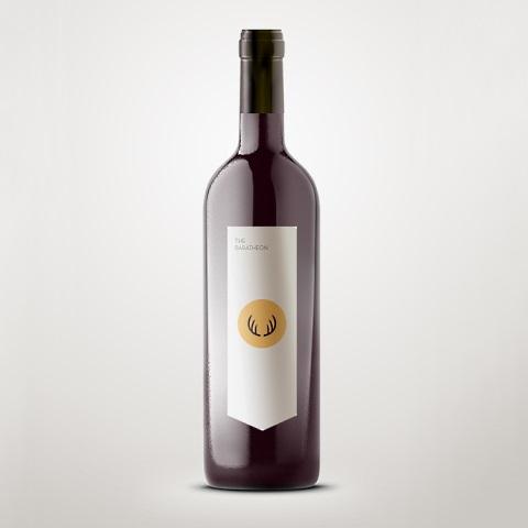 Wine Labels Mock ups Baratheon <i>Game of Thrones</i> Wine is Coming