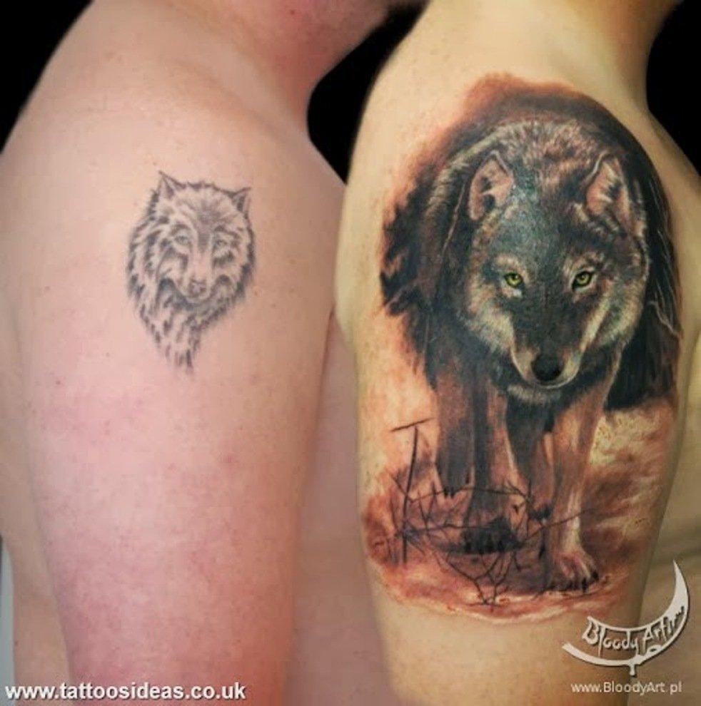 как исправить неудачную татуировку