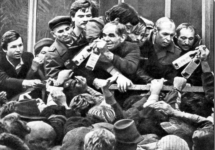 Как менялись цены на водку в СССР СССР, водка, цены