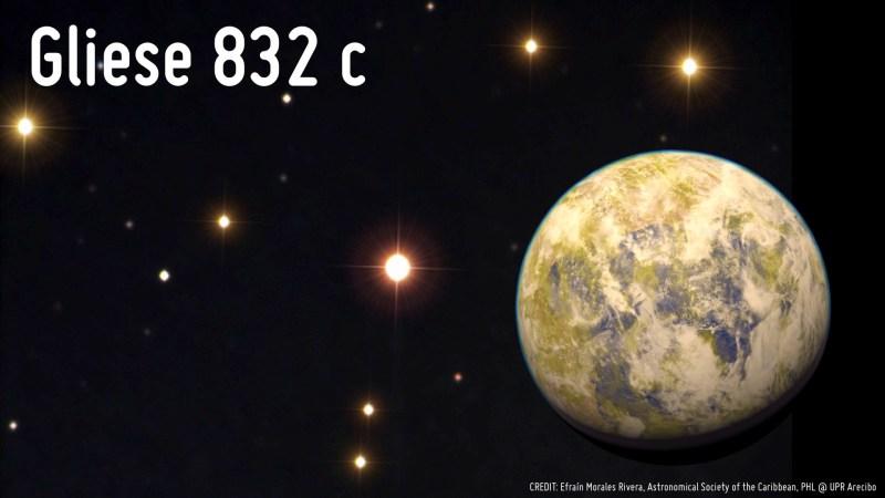Gliese 832 c. Жизнь на других планетах, земля, космос