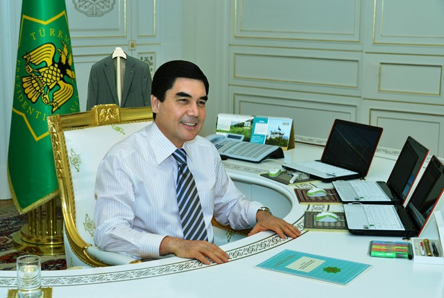 8. Туркменистан. Кабинеты президентов, фото