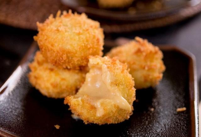 4. Жареное молоко (Китайская кухня) еда, итальянская кухня, китайская кухня, сделай сам, тайская кухня, фритюр