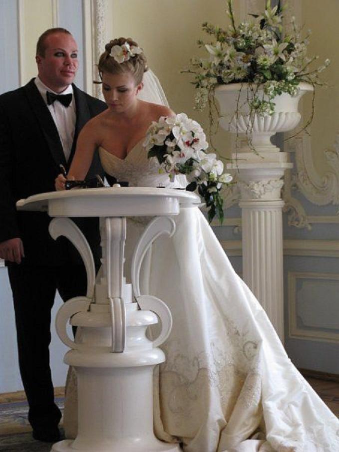 александр шпак свадьба фото