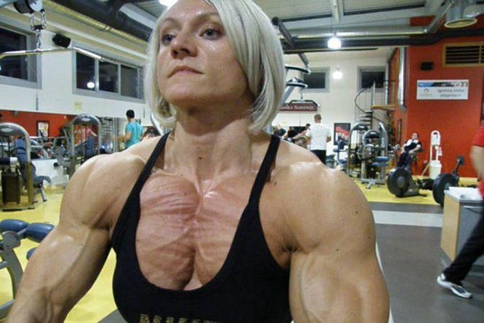 5. Бригита Брезовак steroid, девушки, качки, спорт