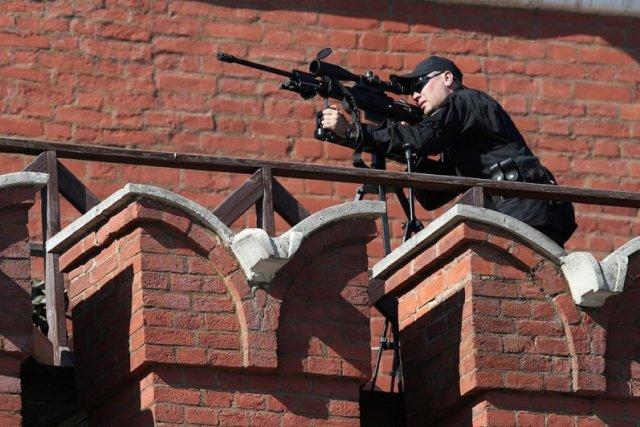 Снайпер федеральной службы безопасности. 9 мая, Федеральная служба, снайперы