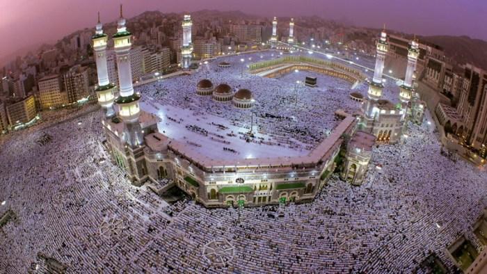 1. Мечеть аль-Харам, Саудовская Аравия красота, мечеть, мир