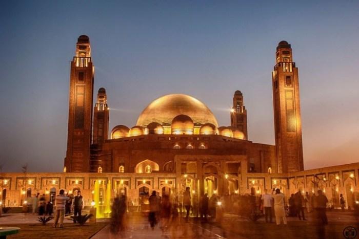 7. Великая мечеть Джамия, Пакистан красота, мечеть, мир