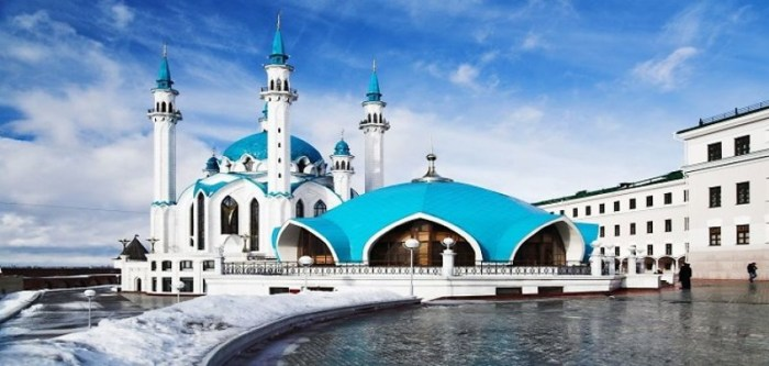 10. Мечеть Кул-Шариф, Россия красота, мечеть, мир