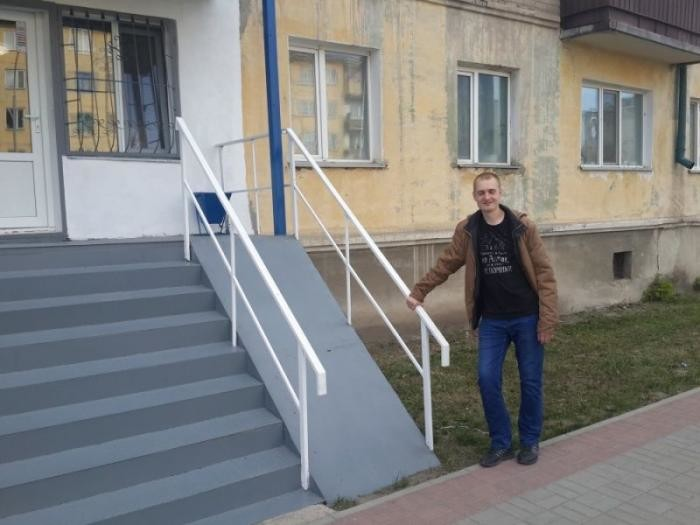 А эти фотографии сделаны на просторах России, Украины, Казахстана и Беларуси доступная среда, инвалиды, пандус, пандусы