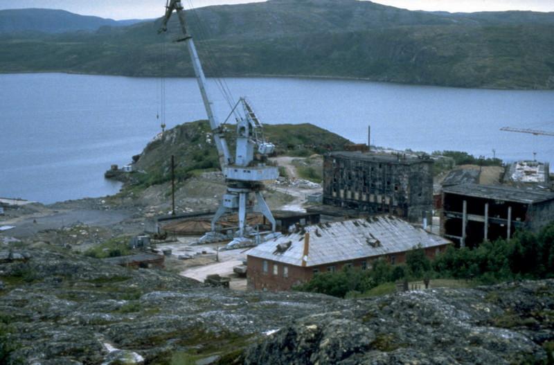 569-я береговая техническая база в губе Андреева, Кольский полуостров зона заражения, опасные места, радиация, россия