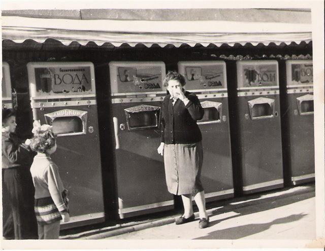 Автоматы газировка, история, лимонад