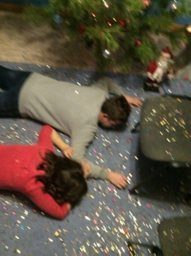 Как отгуляли Новый год: немного адских фотографий из соцсетей люди, новый год, праздник, социальная сеть, чудаки