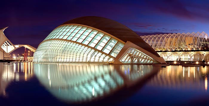 Кинотеатр архитектура, интересное, испания