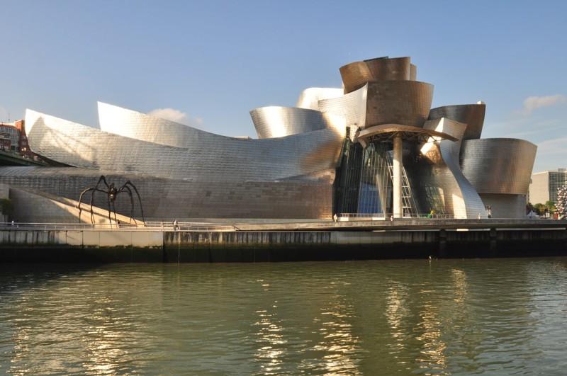 Guggenheim Museum, Бильбао  архитектура, интересное, испания