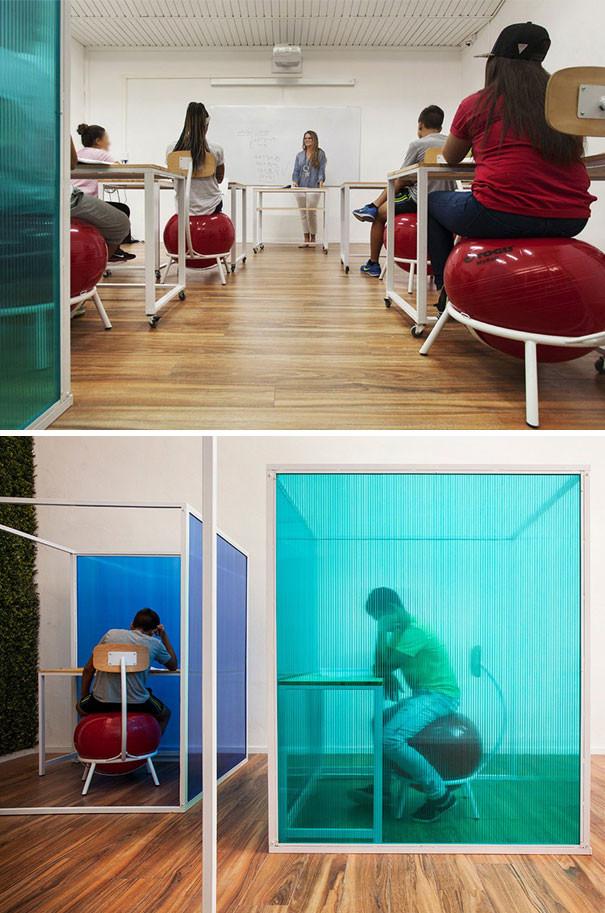 Специально оборудованные кабинеты для детей, страдающих cиндромом дефицита внимания и гиперактивности гениально, изобретения, подборка, студенты, школа