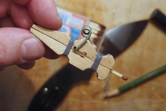От простого к сложному... Спичкострелы - просты в изготовлении, миниатюрны, но пожароопасны. СССР, детство., игрушки, самоделки