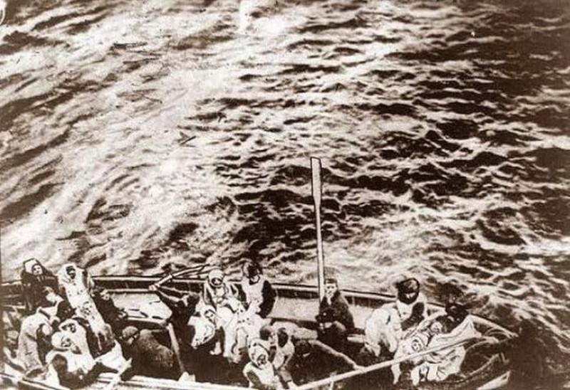 """Спасённые с """"Титаника"""". история, события, фото"""