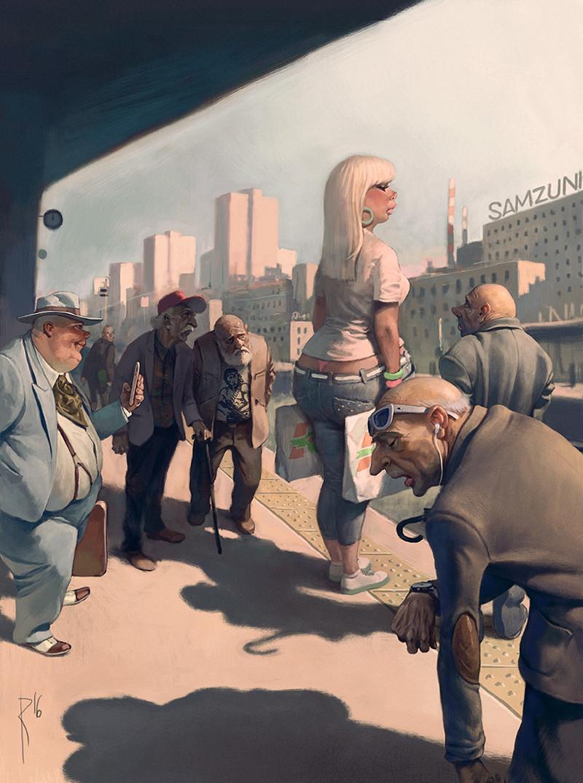 Старые сказки на новый лад Вальдемар Казак, интересное, художник-иллюстратор