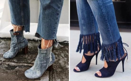 Неровно обрезанные джинсы и джинсы с бахромой дизайнеры, мода, мода 2017, мода девушки, модные штучки, тенденции, хватит, что вы делаете