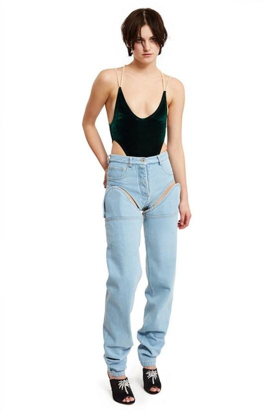 Ну и напоследок - апофеоз дизайнерской мысли: джинсы-трансформеры дизайнеры, мода, мода 2017, мода девушки, модные штучки, тенденции, хватит, что вы делаете
