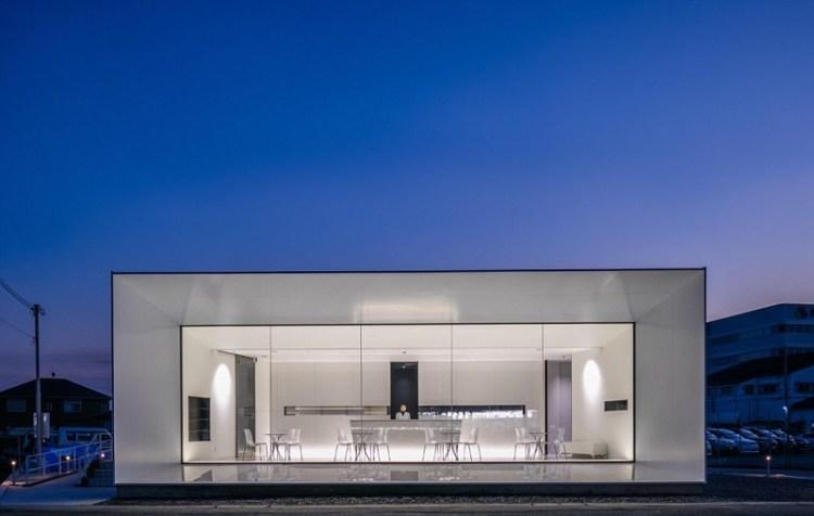 Аптека в Химендзи, Япония архитектура, дома, здания будущего, красота, необычно, проекты, строения, творчество
