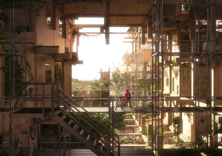 """""""Убежище"""", Алеппо, Сирия архитектура, дома, здания будущего, красота, необычно, проекты, строения, творчество"""