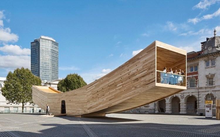Павильон Smile, Лондон архитектура, дома, здания будущего, красота, необычно, проекты, строения, творчество