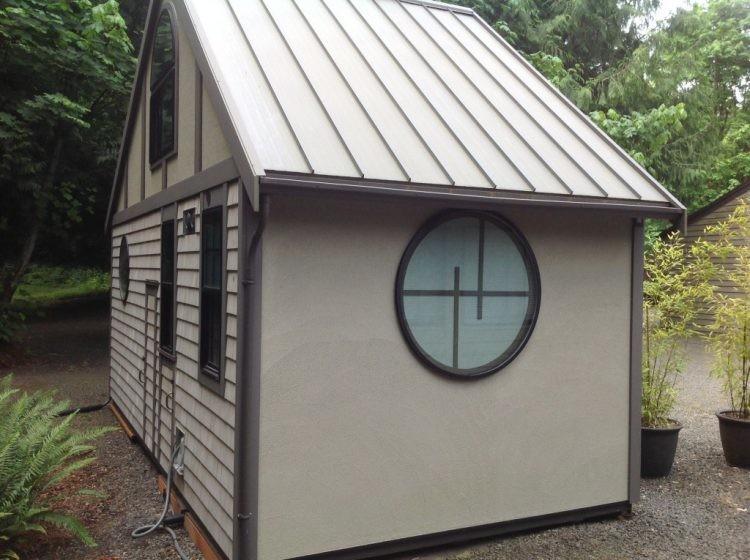 Этот домик построен на 18 кв.м, но вы только посмотрите что внутри! дом, дом  в стране кризис, дом в деревне