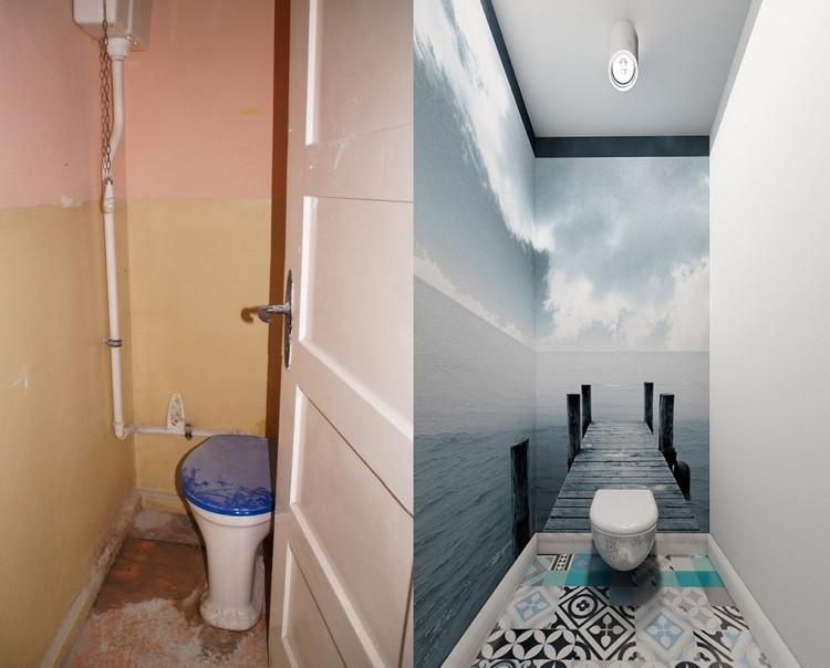 А если еще установить шум прибоя и крики чаек, можно вообще экономить на отпуске в туалете дизайн, прикол, санузел, туалет, унитаз
