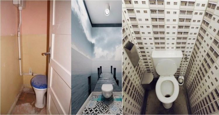 А как вам такое решение для санузла? дизайн, прикол, санузел, туалет, унитаз