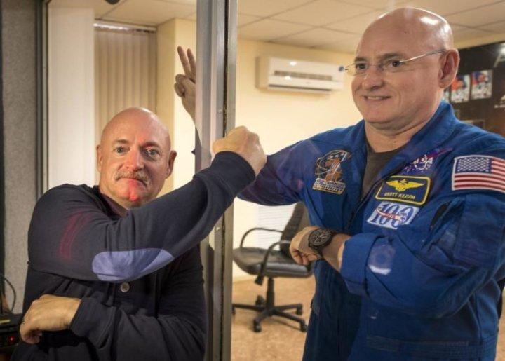 53-летний Скотт еще и стал выше брата на 5 см nasa, близнец, брат, космос, мкс, омоложение, результат, эксперимент