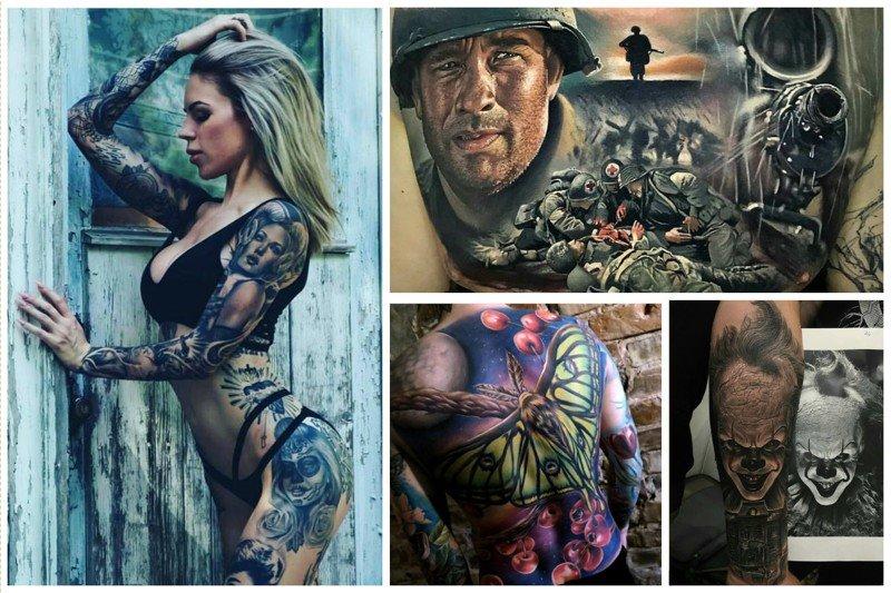 Татуировки для красоты перемежаются красотой в татуировках... бывает же такое, интересное, красота, мастерство, татуировки, художник