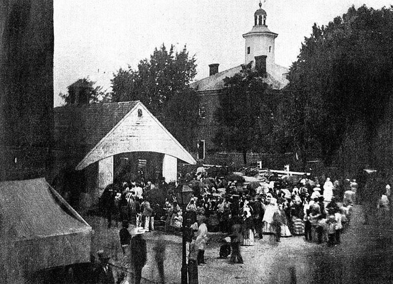 Аукцион рабов в Истоне, штат Мэриленд, 1850-е аукцион, история, продажа, прошлое, раб, сша, фотография