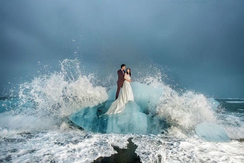 Озеро Йёкюльсаурлоун, Исландия. Любовь, отношения, свадебное фото, свадьба, фото, фотограф, фотография