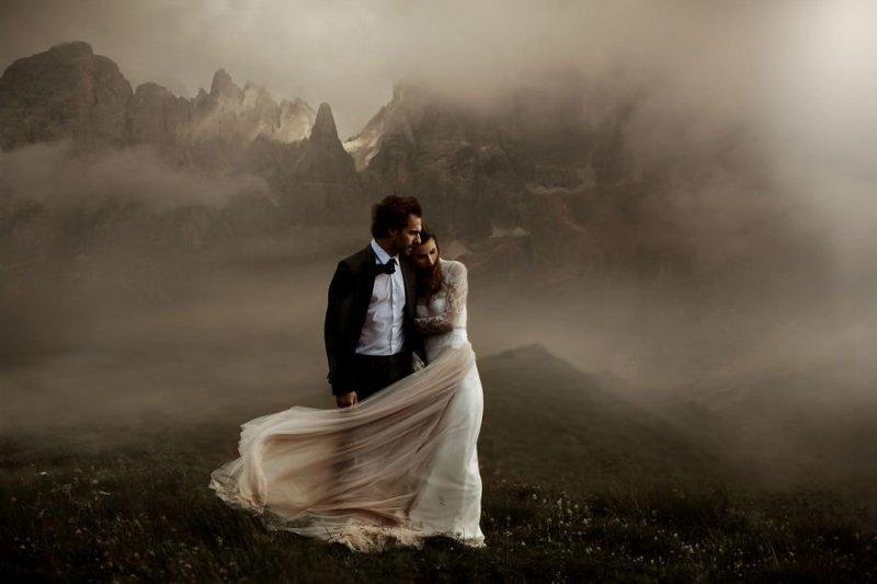 Доломитовые Альпы, Италия. Любовь, отношения, свадебное фото, свадьба, фото, фотограф, фотография