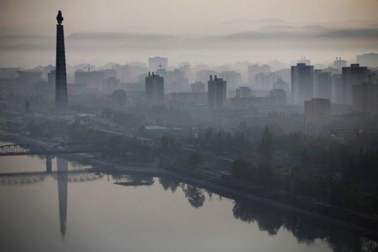 Большая часть фото выше предоставлена мировым агентствам Центральным телеграфным агентством (ЦТА) Северной Кореи архитектура, здание, красота, мире, северная корея