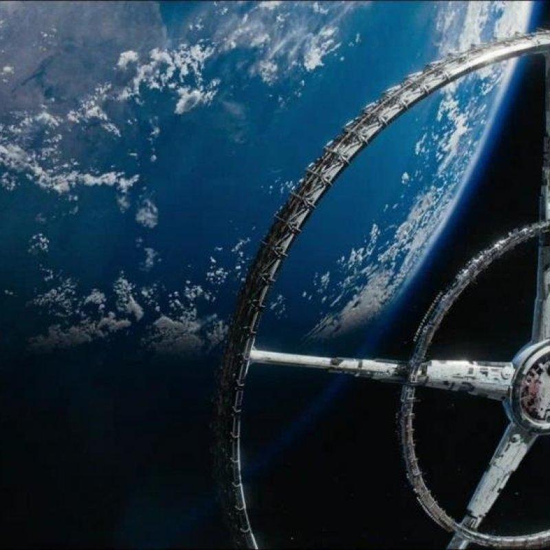 станция «Элизиум» из одноимённого фильма Нила Бломкампа - диаметр 60 километров star trek, вавилон, звездные войны, звездные корабли. космос, интересное, сравнение, фото