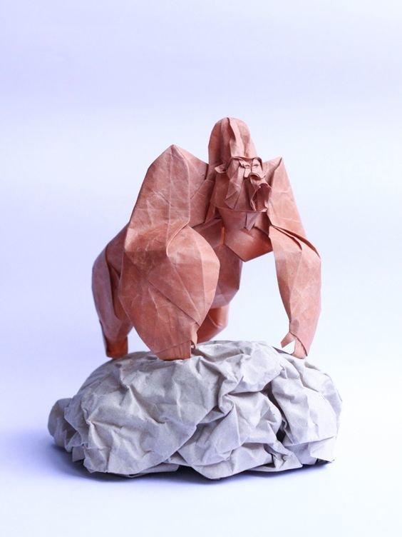 Вы так не сможете - невероятные шедевры оригами Фабрика идей, бумага, искусство, красота, мастерство, оригами