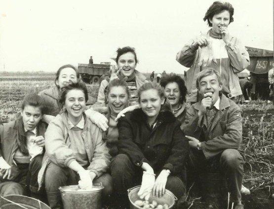 Советская традиция посылать студентов «на картошку» забыта. А вот воспоминания об этих поездках живы СССР, история, фотографии